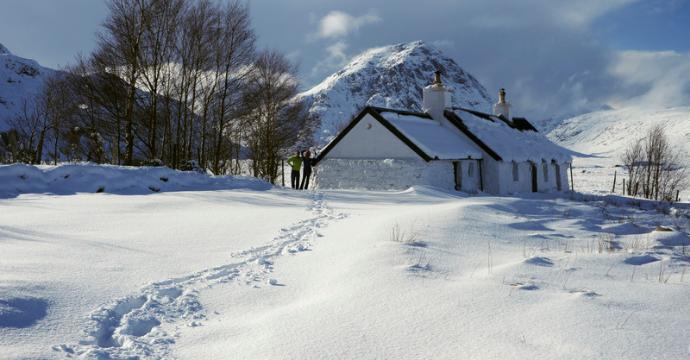 scotland in the winter