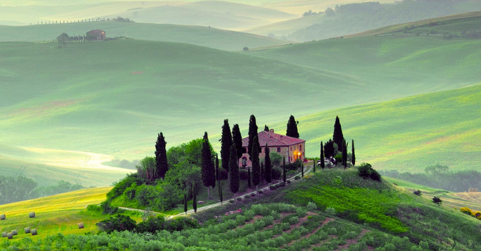 best time to visit Italy, Tuscany