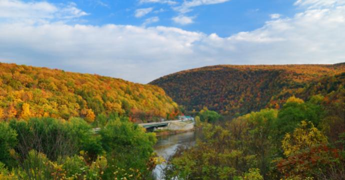 Best road trips in the USA - Blue Ridge