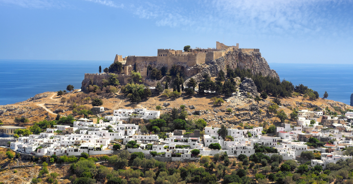 Lindos Acropolis - best ruins in Greece