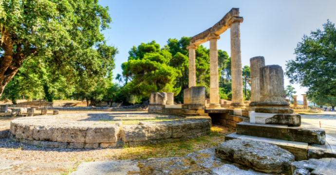 Ruins in Olympia