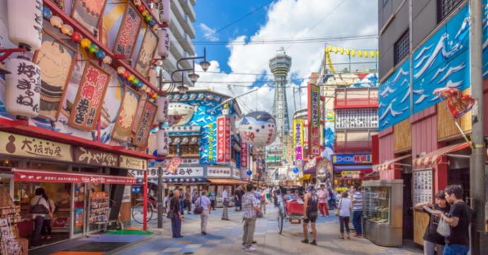 Osaka street food Asia
