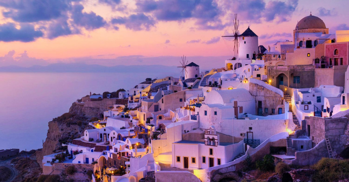 santorini luxury vacations