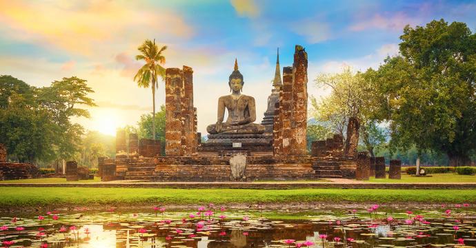 Wat Mahathat Temple Thailand