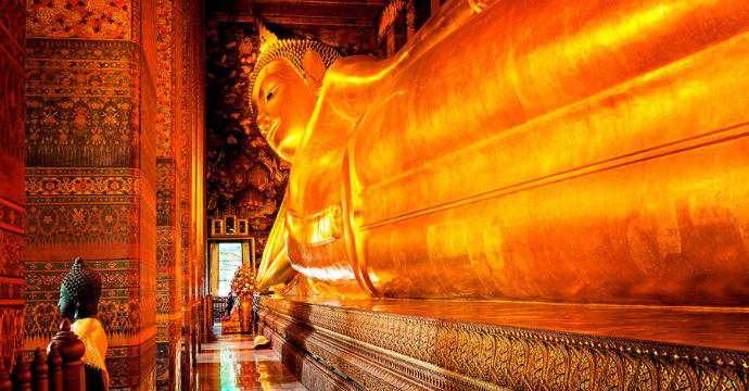 Reclining Buddha Temple Thailand