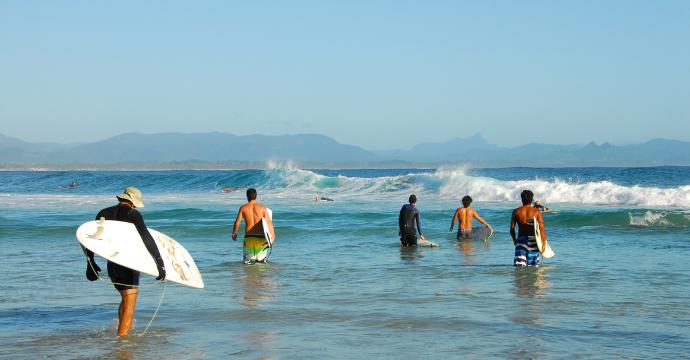 byron bay - best surf spots