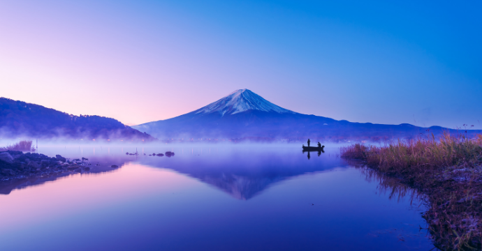 Mount Fuji : tourist attractions in Japan