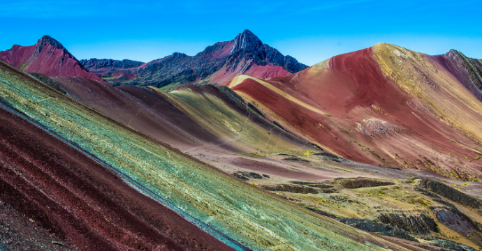 Vinicunca most beautiful mountains