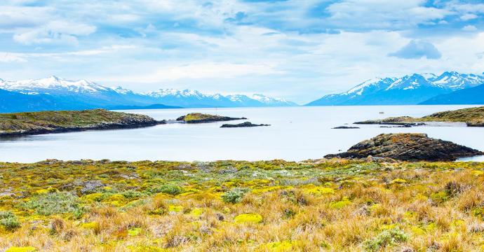Tierra del Fuego landscape Patagonia