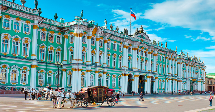 Winter Palace: St. Petersburg Architecture