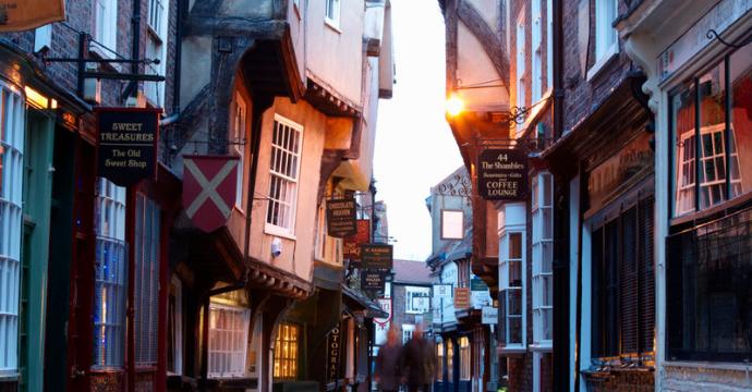 Medieval town: York