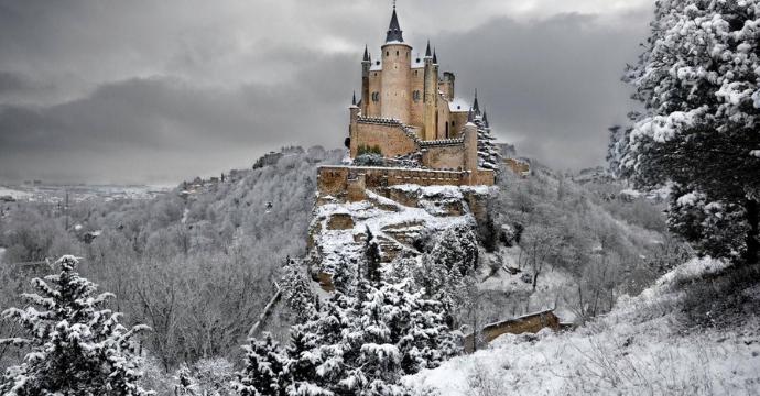 Alcazar of Segovia - medieval castles in Europe