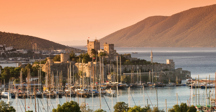 Bodrum, close to Halicarnassus home to one of the 7 wonders of the ancient world