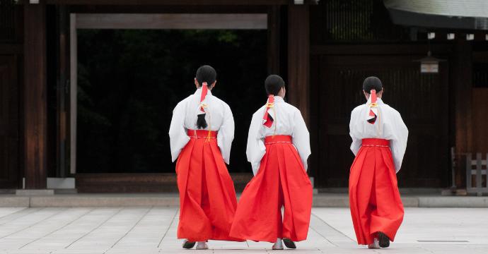 Tourist attractions in Japan: Meiji Shrine, Tokyo