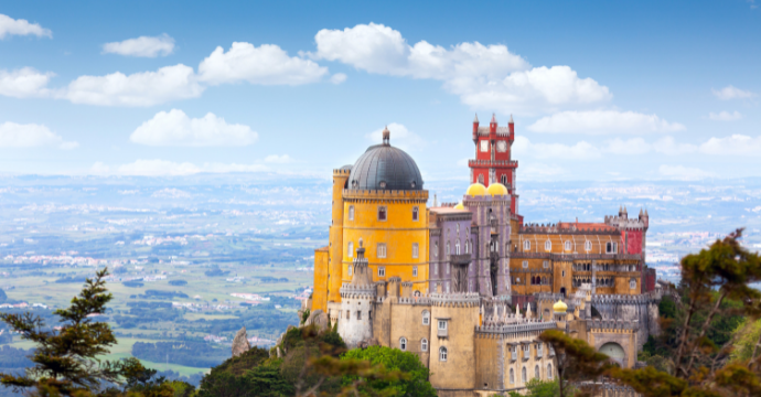 Pena Palace: castles in Europe
