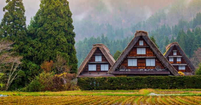 Shirakawago - top tourist attractions in Japan