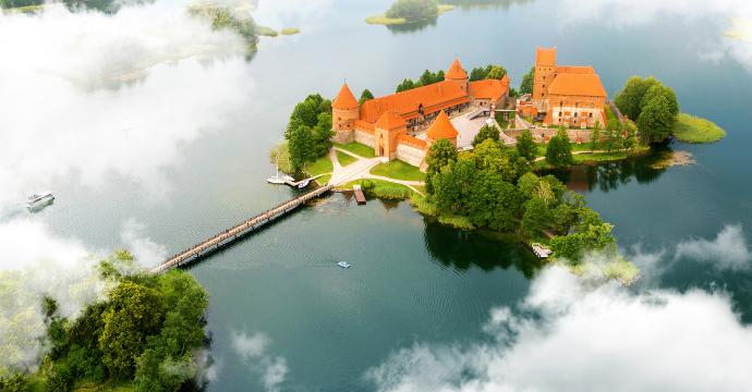 Trakai Castle : European palaces and castles