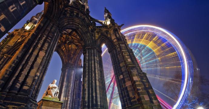 Best christmas markets in Europe: Edinburgh
