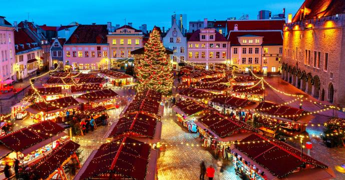 Tallinn: Christmas markets in Europe