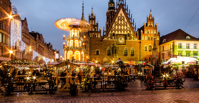Wroclaw at Christmas