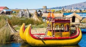 lake titicaca floating islands