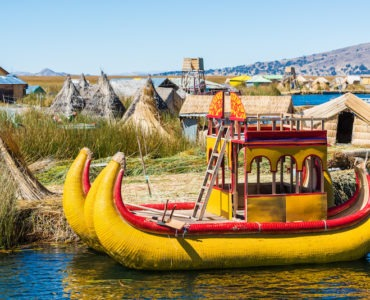 lake titicaca floating islands